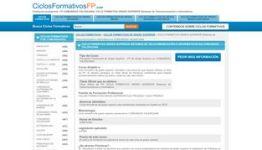 CICLO FORMATIVO GRADO SUPERIOR Sistemas de Telecomunicación e Informáticos en COMUNIDAD Valenciana