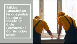VÍDEO SOBRE EL TEMARIO Y LAS SALIDAS PROFESIONALES DEL CICLO FORMATIVO DE FP CONSTRUCCIÓN