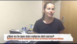 OPINIONES DE LOS TÍTULADOS SOBRE EL CURSO DE CAMARERA DE PISOS