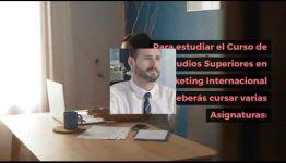 FORMACIÓN DE ESTUDIOS SUPERIORES EN MARKETING INTERNACIONAL: TEMARIO Y LOS PUESTOS DE TRABAJO