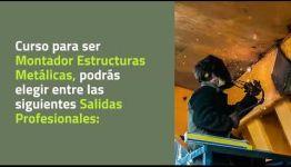 CONVERTIRTE EN MONTADOR ESTRUCTURAS METÁLICAS: TEMARIO Y LAS SALIDAS PROFESIONALES