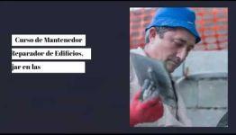 EDUCARTE COMO MANTENEDOR REPARADOR DE EDIFICIOS: ASIGNATURAS Y LAS SALIDAS LABORALES