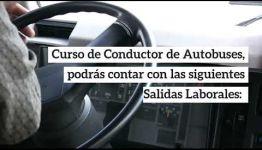 VÍDEO SOBRE LAS ASIGNATURAS Y LAS SALIDAS LABORALES AL FORMARTE COMO CONDUCTOR DE AUTOBUSES
